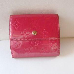 Louis Vuitton Wallet Vernis Elise